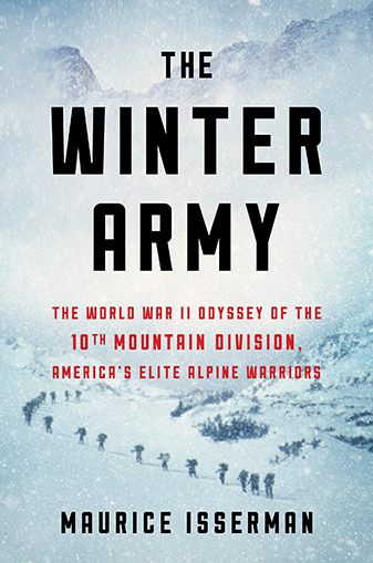 Book cover of The Winter Army by Maurice Isserman.