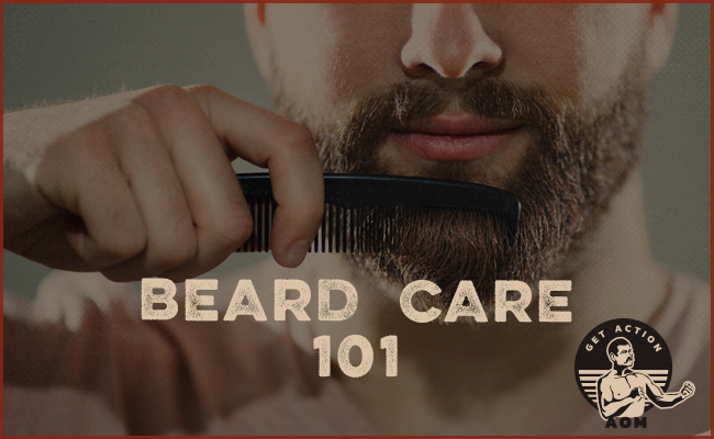 Poster of Beard Care 101 by Get Action.