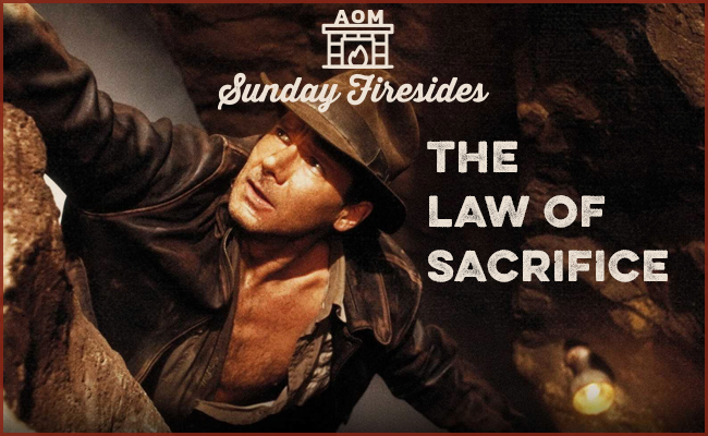 The Law of Sacrifice poster.