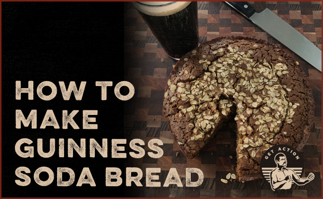 How to make Guinness soda bread poster.