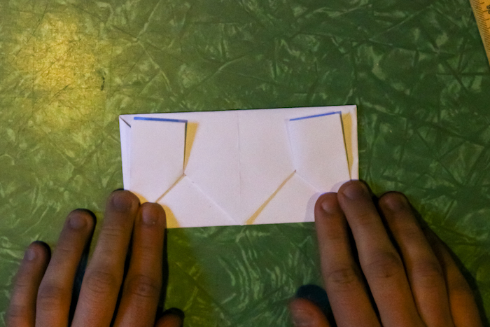 Turning paper into Envelope.