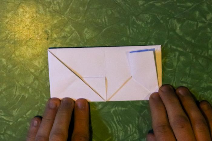 Opening of Envelope.