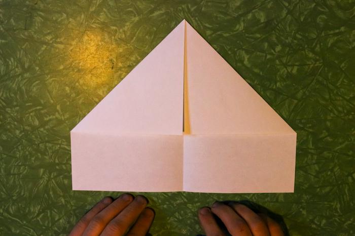 Folded Corners of paper.