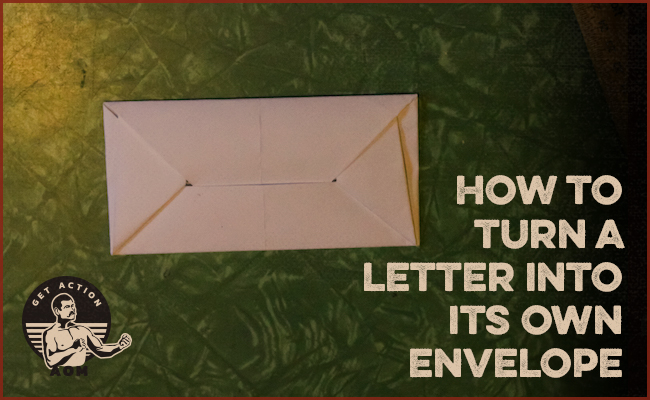 How to make Paper Envelope without Glue or Tape - Make your own ... | 400x650