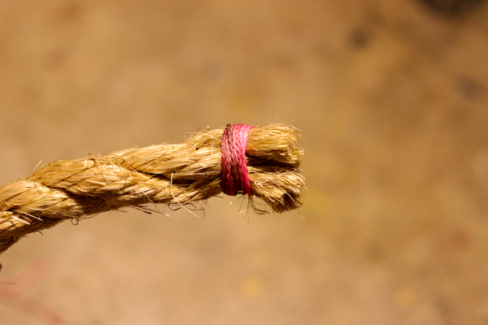 A wiped rope.