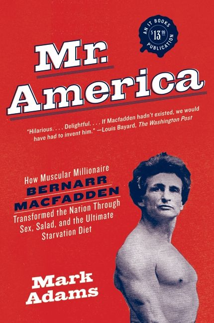 Cover of Mr America.