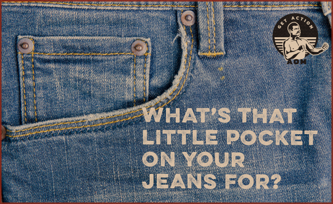 Little pocket of the jeans.