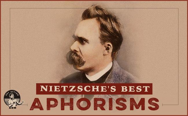 Philosopher Friedrich Nietzsche.