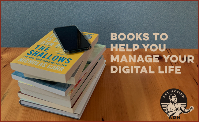 Collection of books how to manage your digital life.