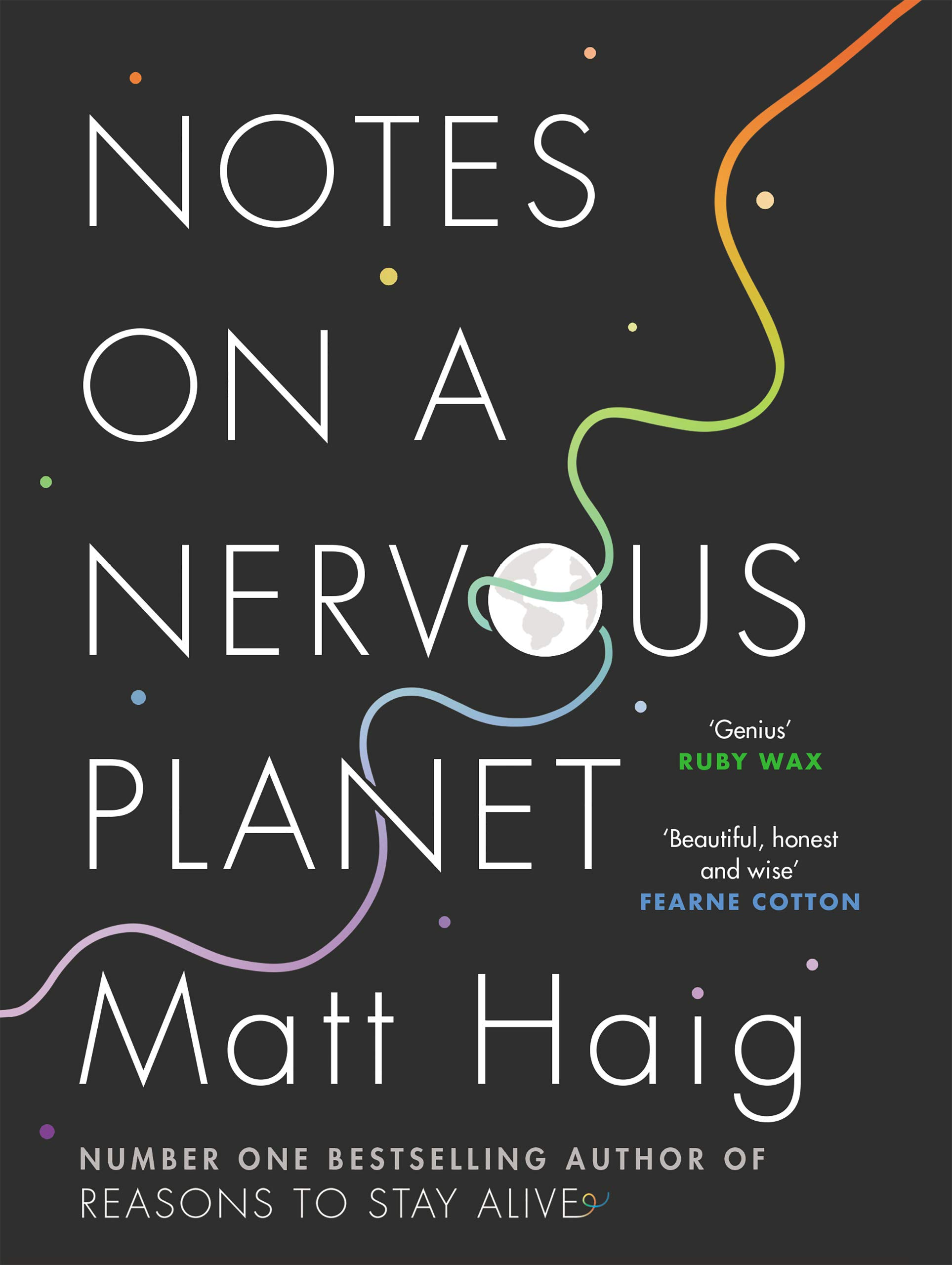 Notes on a Nervous planet book cover by Matt Haig.