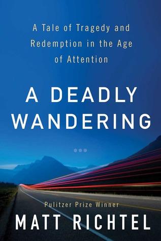 A Deadly Wandering book cover by Matt Richtel.