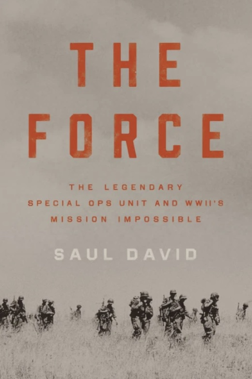 the force by saul david book cover.