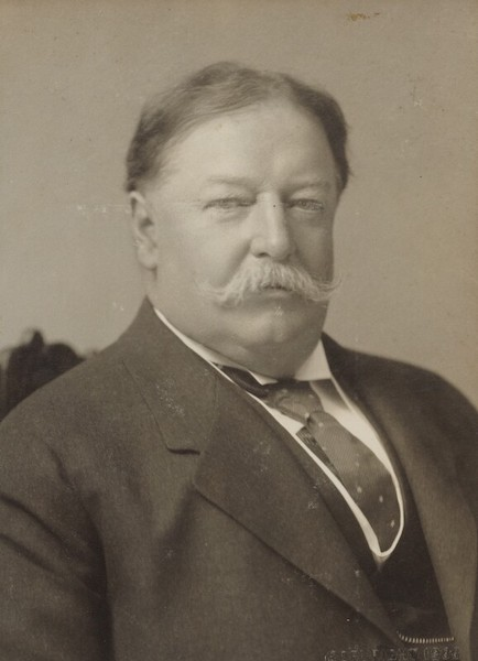 william howard taft portrait as president.