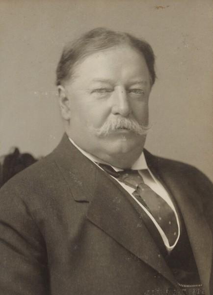 william howard taft portrait as president.