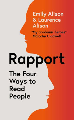 rapport book cover by emily and laurance alison