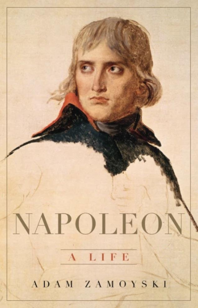 Napoleon by Adam zamoyski book cover