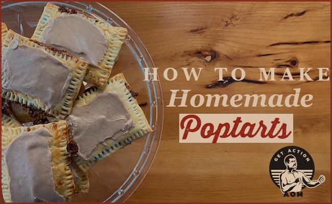 homemade pop tarts on platter.