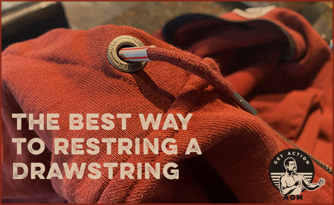 How to Rethread a Drawstring in Less Than 60 Seconds